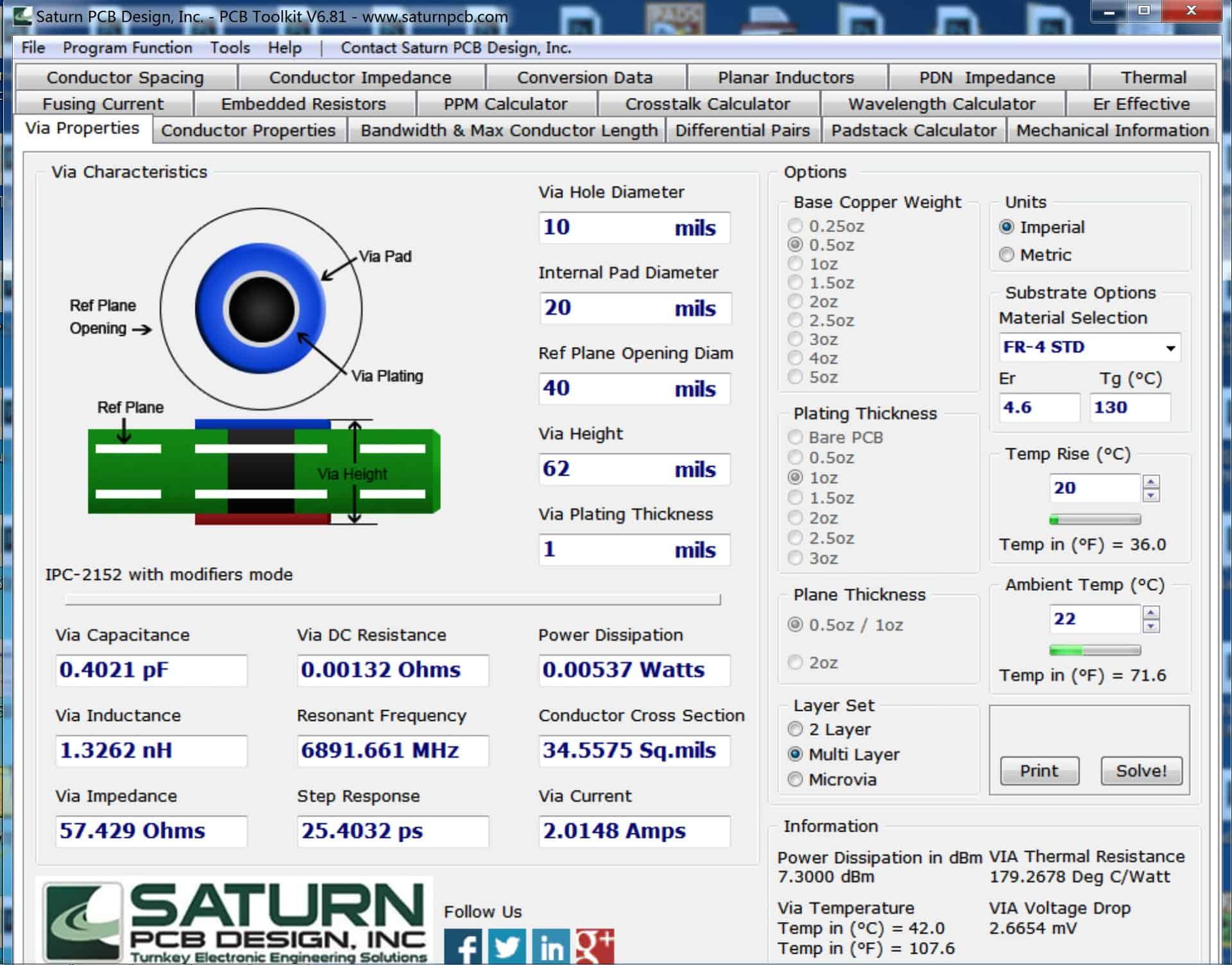 PCB参数计算神器-Saturn PCB Design Toolkit下载及安装指南-2