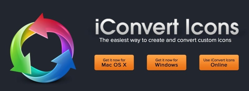 iconverticons利器转换生成图标,支持windows,mac冲锋大bug教程图片