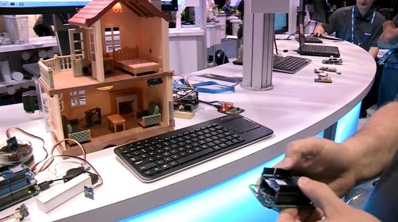 [视频]ARM告诉你物联网怎么玩,mbed 6LoWPan demo-1