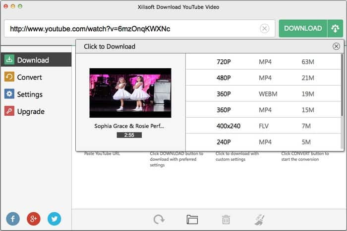 MAC OS下免费下载YouTube-2