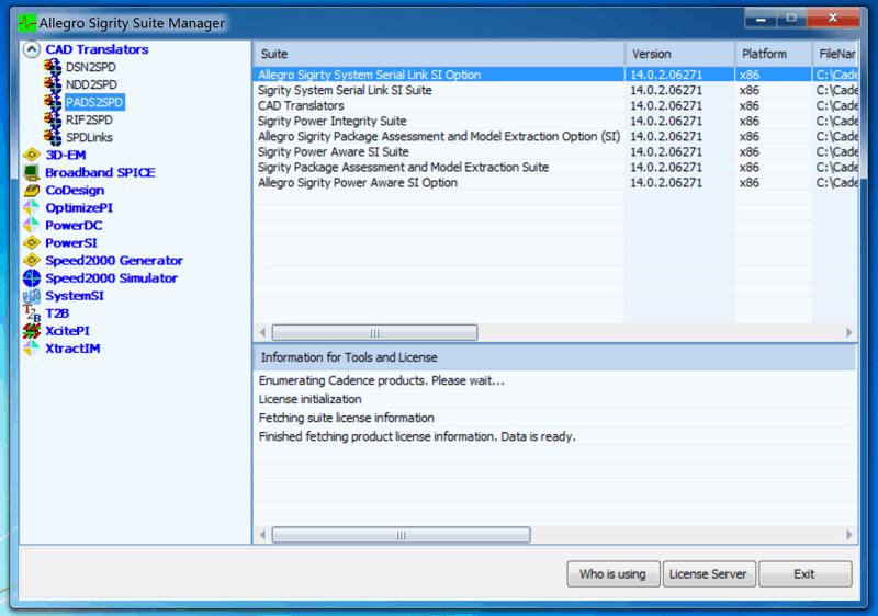 Cadence仿真利器,Cadence SI / PI Analysis - Sigrity安装及破解指南-15