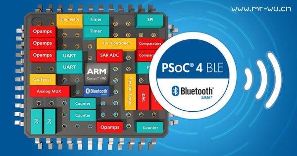赛普拉斯低功耗蓝牙产品线PSoC 4 BLE 和 PRoC BLE现推出工业温度范围的产品