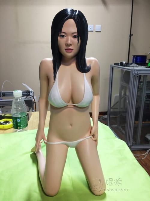 [转]3D打印苍老师,给跪了–学习一下3D打印的整个制作过程