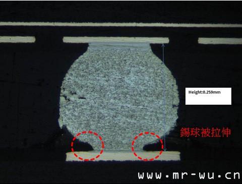 [转]BGA切片後如何判斷焊接品質 - 第3张  | 吴川斌的博客