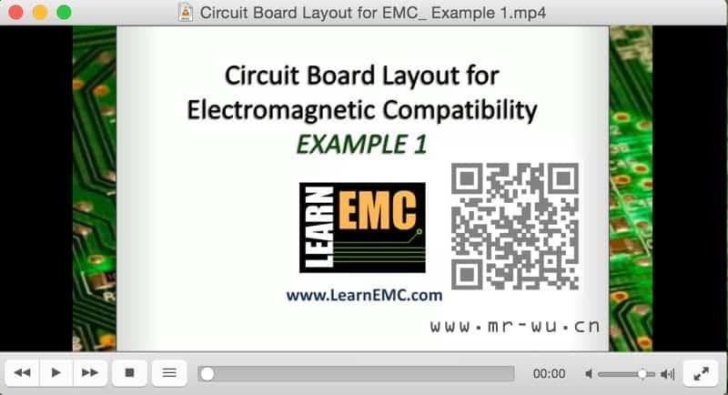 [视频]像这么吊的 EMC Layout 讲解视频这辈子都没见过-Circuit Board Layout for EMC: Example 1