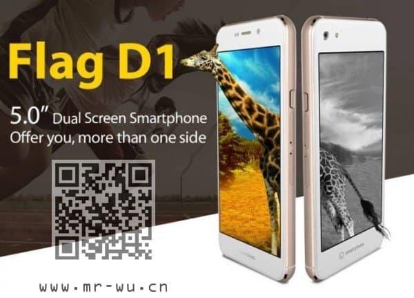 [视频]64bit MT6752 带有双显示 来至Huateng的Android智能机