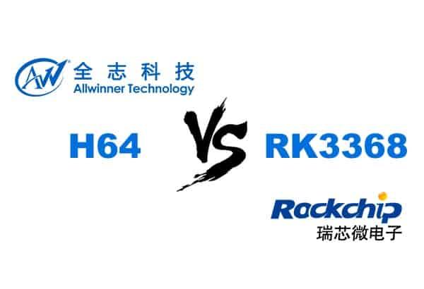 [视频]全志H64 VS 瑞芯微 RK3368