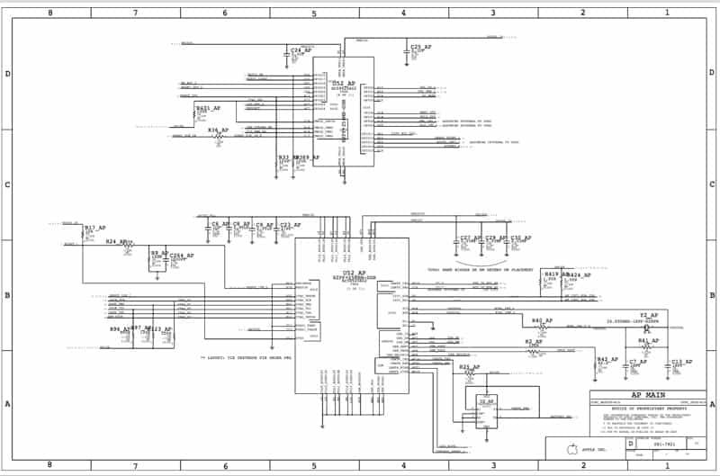 IPhone4电路原理图
