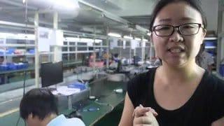 [视频]一家做视频监控摄像头的厂家参观视频