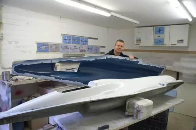 制作F16飞机模型9