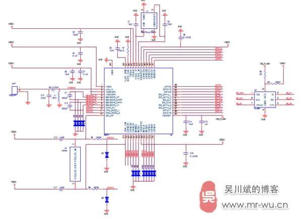 ESP32模块原理图