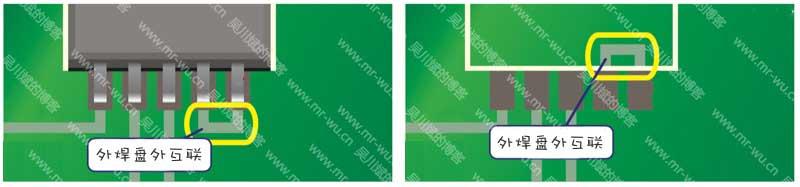 规范性PCB设计规则之器件相邻的焊盘间走线