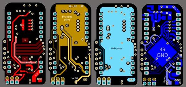 极好的模拟/数字混合信号的电路板布局布线注意事项