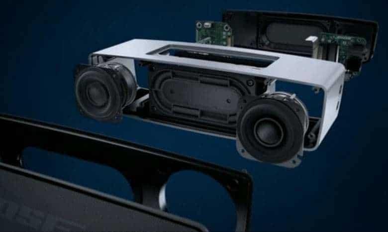Bose Soundlink Mini 内部结构示意图