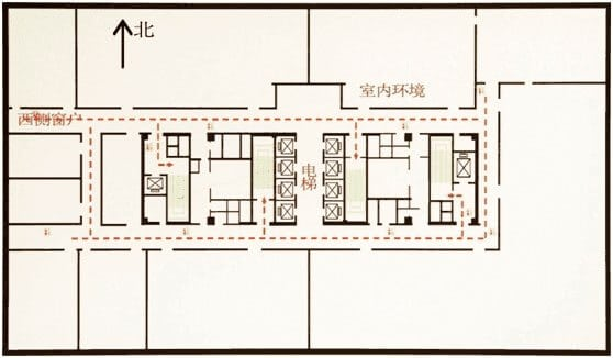 楼层结构平面图示例
