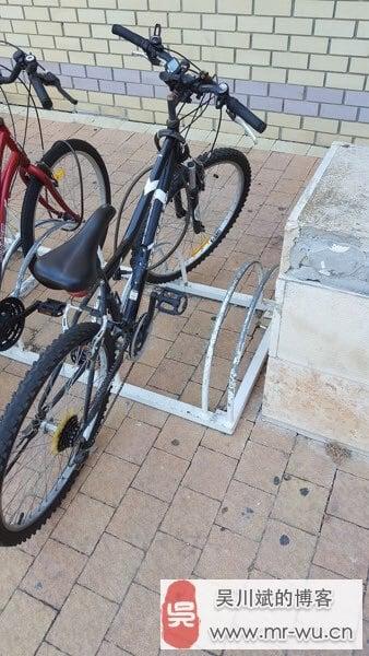 自行车外出