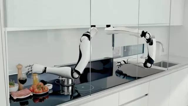[视频]未来厨房机器人系统