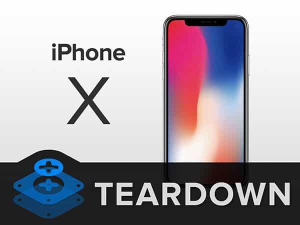 iFixit 超详细拆解 iPhone X 视频分享 苹果创新设计:堆砌主板和双层电池