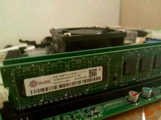 国产紫光国芯牌DDR4内存?真的?假的?