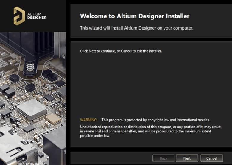 Altium Designer 19.1.7 已就绪