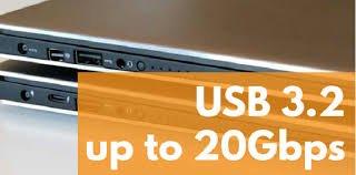 USB 3.2 标准来了 速度翻倍到20Gbps