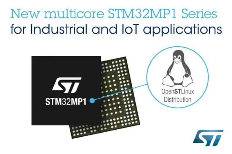 等太久!意法半导体终于拥抱Cortex-A架构发布STM32MP1 MPU